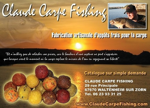 Claude Carpe Fishing